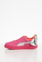PUMA - Girls suede bow ac ps - pink