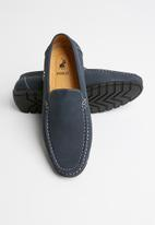 POLO - Ben slip-on driver - navy