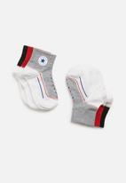 Converse - Infant striated qtr 3 pack - multi