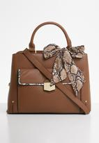 Steve Madden - Mini delta satchel - brown