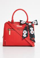 Steve Madden - Mini delta satchel - red