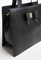 Pierre Cardin - Becca structured crossbody - black