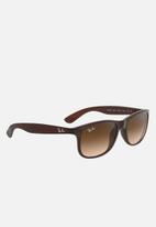 Ray-Ban - Folding wayfarer sunglasses 54mm - brown