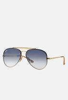 Ray-Ban - Blaze aviator sunglasses 58mm - gold