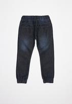 POP CANDY - Boys jogger with tape - navy