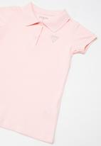 GUESS - Girls classic Guess polo - pink
