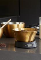 Kitchen Craft - Brass finish mixing bowl medium - 21cm