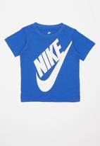 Nike - Nike boys jumbo futura tee - blue