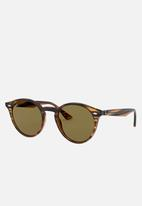 Ray-Ban - Round sunglasses 51mm - havana
