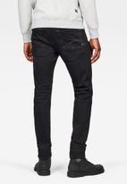G-Star RAW - D-staq pop 5 pocket slim  jeans - black