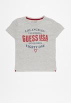 GUESS - Teens short guess est tee - grey