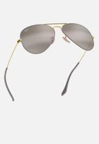 Ray-Ban - Ray-ban aviator sunglasses 58mm - gold/grey