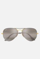 Ray-Ban - Ray-ban aviator sunglasses 58mm - gold/grey