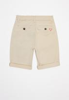 GUESS - Guess teens chino shorts - beige
