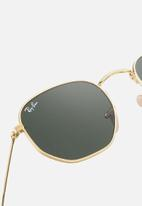 Ray-Ban - Hexagonal sunglasses 54mm - gold