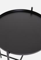 Sixth Floor - Dianara tray table - black