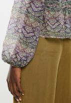 Superbalist - Sheer gypsy blouse - multi
