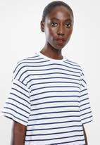 Superbalist - T-shirt dress - blue & white