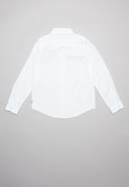 GUESS - Teens Guess core woven shirt - white