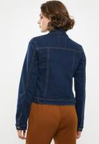 Superbalist - Fitted denim jacket - navy