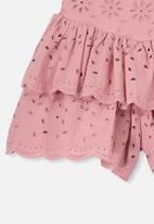 Cotton On - Maisie skort - pink