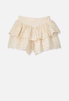 Cotton On - Maisie skort - cream