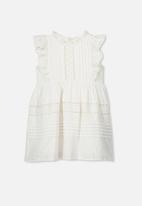 Cotton On - Sasha sleeveless dress - white