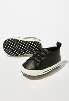 Cotton On - Mini classic trainer - black