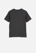 Cotton On - Max skater short sleeve tee - charcoal