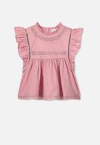 Cotton On - Lou high neck top - pink
