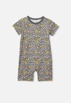 Cotton On - The short sleeve romper - multi