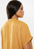 edit Plus - Hanley collar tunic - mustard
