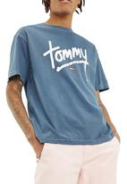 Tommy Hilfiger - Tommy jeans handwriting tee - navy