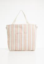 Cotton On - Slouchy washed tote - peach