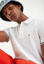 Tommy Hilfiger - Basic tipped regular polo - white
