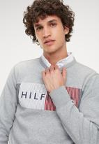 Tommy Hilfiger - Hilfiger logo sweatshirt - grey