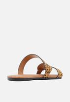 Call It Spring - Roanne sandal - brown multi