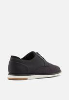 Call It Spring - Kronos round toe lace-up - black