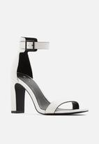 Call It Spring - Alexiss heel - white