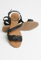 edit - Eve sandal - black