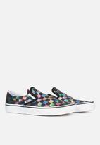 Vans - Vans ua classic slip-on - (iridescent check) black/true white