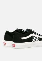 Vans - Vans ua bess ni - (check) black/true white