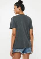 Factorie - Relaxed graphic T-shirt - grey