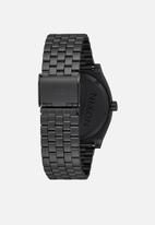Nixon - Time Teller - all black & surplus