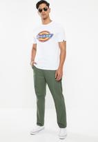 Dickies - Dickies horseshoe T-shirt - white