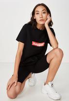 Cotton On - Basic bike shorts - black