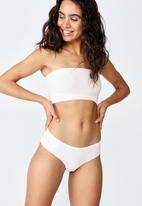 Cotton On - Lily lace brasiliano brief - pink