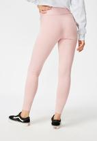 Cotton On - High waisted legging - pink