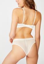 Cotton On - Olivia brasiliano briefs - white