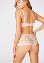 Cotton On - Olivia shorty boyleg briefs - pink